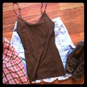 🐣 Anthropologie Weston Wear brown camisole